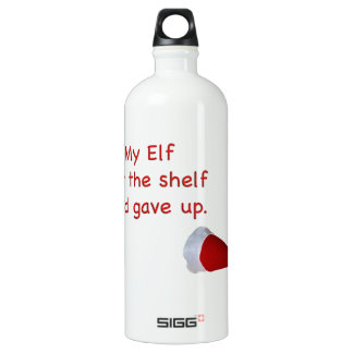 My Elf left the shelf and gave up SIGG Traveler 1.0L Water Bottle