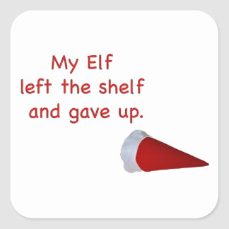 My Elf left the shelf and gave up Stickers