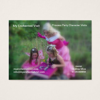 My Enchanted Visit Business Card