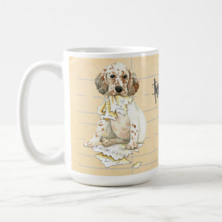 My English Setter Ate my Homework Coffee Mug