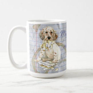 My English Setter Ate my Lesson Plan Coffee Mug