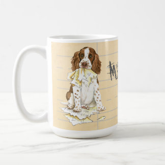 My English Springer Ate My Homework Coffee Mug