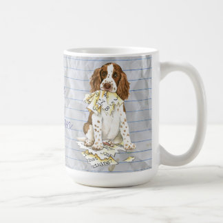 My English Springer Ate My Lesson Plan Coffee Mug