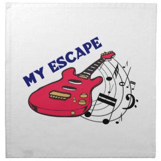 My Escape Printed Napkin