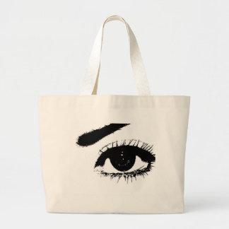 My Eye Large Tote Bag