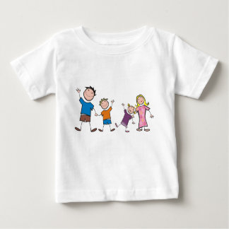 My Family and Me - Baby T-Shirt