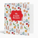 My Family Recipes Vinyl Binders