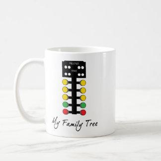 My Family Tree - Drag Racing Christmas Tree Coffee Mug