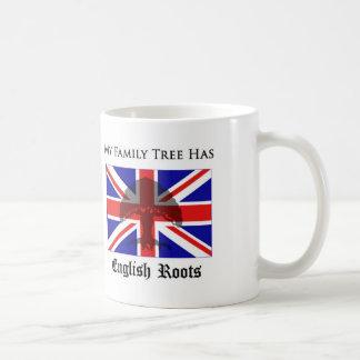 """""""My Family Tree Has English Roots"""" mug"""