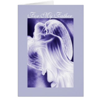 My Father - Angel Greeting Card