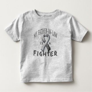 My Father-In-Law Is A Fighter Grey T Shirts