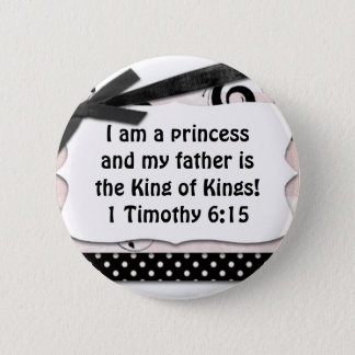 My father is King of King's 2 Inch Round Button