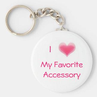 My Favorite Accessory Keychain