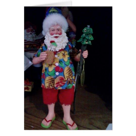 MY FAVORITE BEACH BUM CHRISTMAS CARD