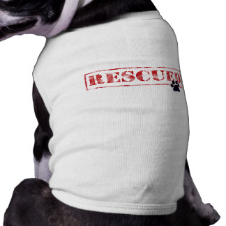 My Favorite Breed Is Rescued Doggie Tee Shirt