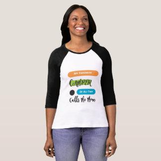 My Favorite Camper calls me Mom T-Shirt