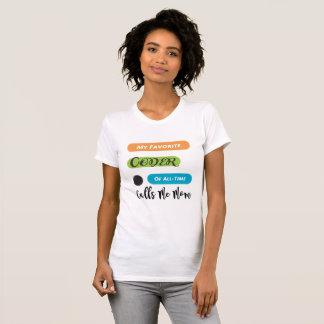 My Favorite Coder Calls Me Mom T-Shirt