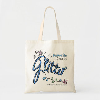 My Favorite Color is Glitter Tote