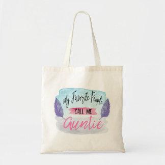 My Favorite People Call Me Auntie Tote Bag