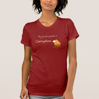 My favorite perfume is campfire Camping Hiking T-Shirt