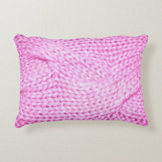 My Favorite Pink Sweater Decorative Pillow