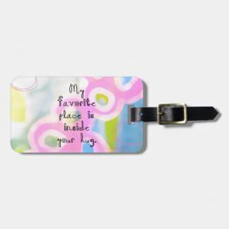 My Favorite Place Luggage Tag