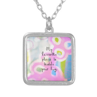 My Favorite Place Silver Plated Necklace