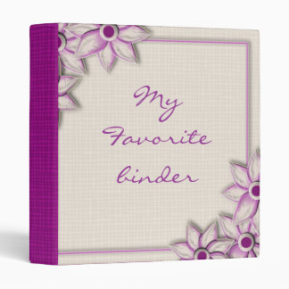 My  Favorite Purple Binder