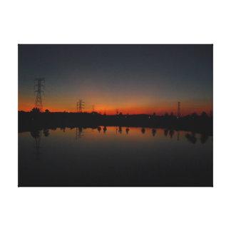 My Favorite Sunset Canvas Print