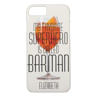 My favorite superhero is called Barman Custom iPhone 7 Case