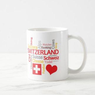 My Favorite Swiss Things Funny Coffee Mug