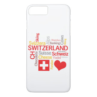 My Favorite Swiss Things Funny iPhone 8 Plus/7 Plus Case