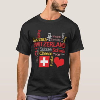 My Favorite Swiss Things Funny T-Shirt