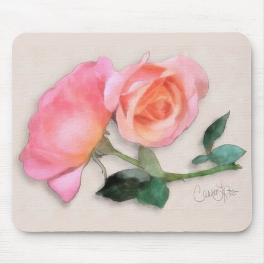 My Favourite Colour of Rose Mouse Pad