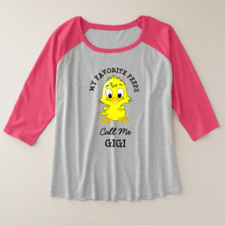 My Favourite Peeps Call Me Gigi Grandma Shirt