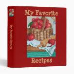 My Favourite Recipes - Binder