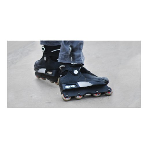 My Feet Custom Photo Card