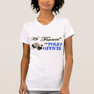 My Fiance is a Police Officer Tee Shirt