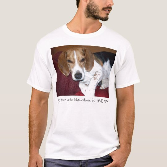 My Filosofee Is Yu Has to Has Snaks and Luv T-Shirt