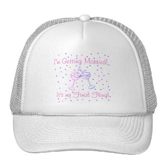 My Final Fling T-shirts and Gifts Trucker Hat
