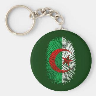 My fingerprint is 100% Algerian Tees and gear Keychain