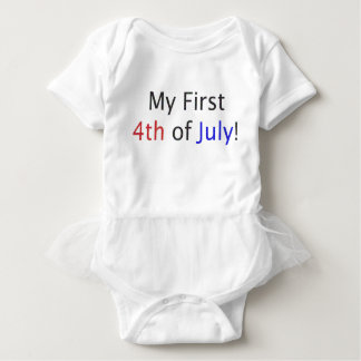 My First 4th of July! Baby Bodysuit