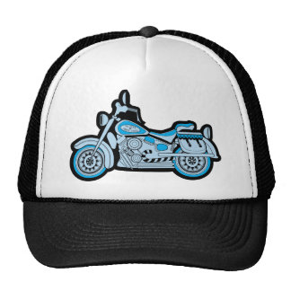 My First Blue Motorcycle Trucker Hat