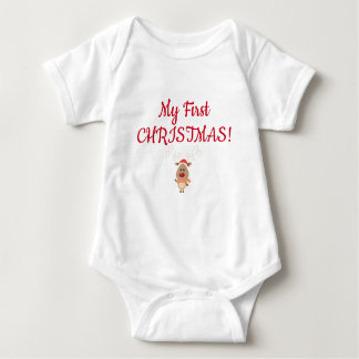 My First CHRISTMAS! Baby Bodysuit
