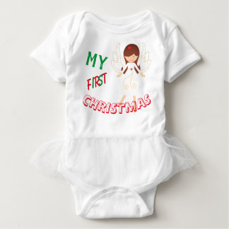 My First Christmas Baby Bodysuit
