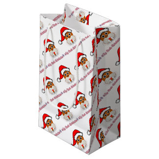 My First Christmas Baby Walrus Small Gift Bag