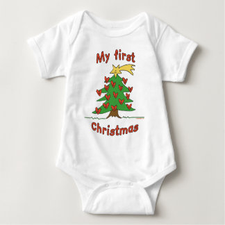 My First Christmas (Happy Tree design) T Shirt