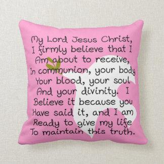 My First Communion Pillow Holy Communion Prayer