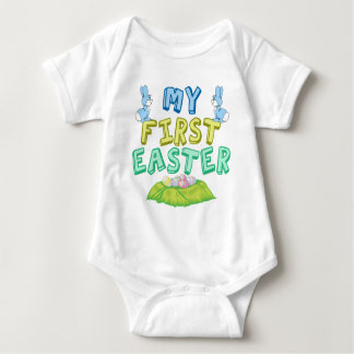 My First Easter Baby Baby Bodysuit