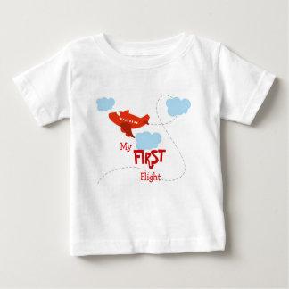 My First Flight Baby T-Shirt